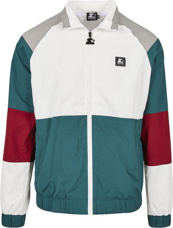 Color Block Retro Jacket