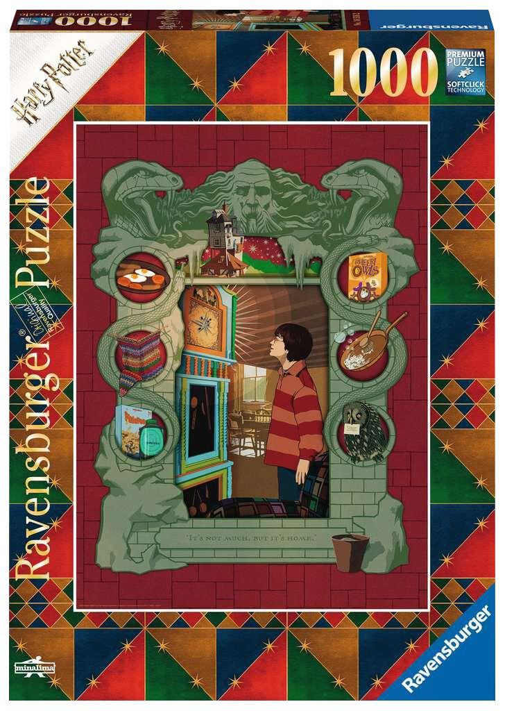 Harry Potter Bei der Weasley Familie Puzzle multicolor 00.016.516