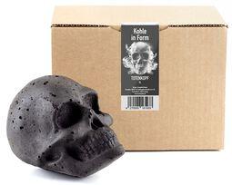 Totenkopf Kohle - XL Kopf