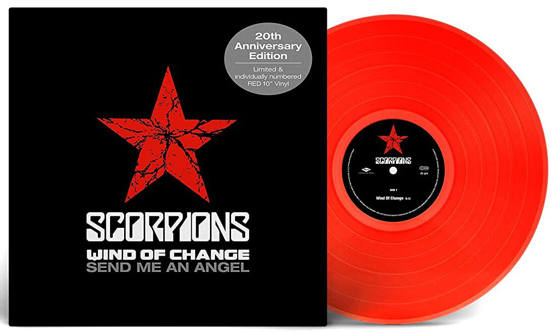 Image of Scorpions Wind of change/ Send me an angel 10 inch-EP Standard