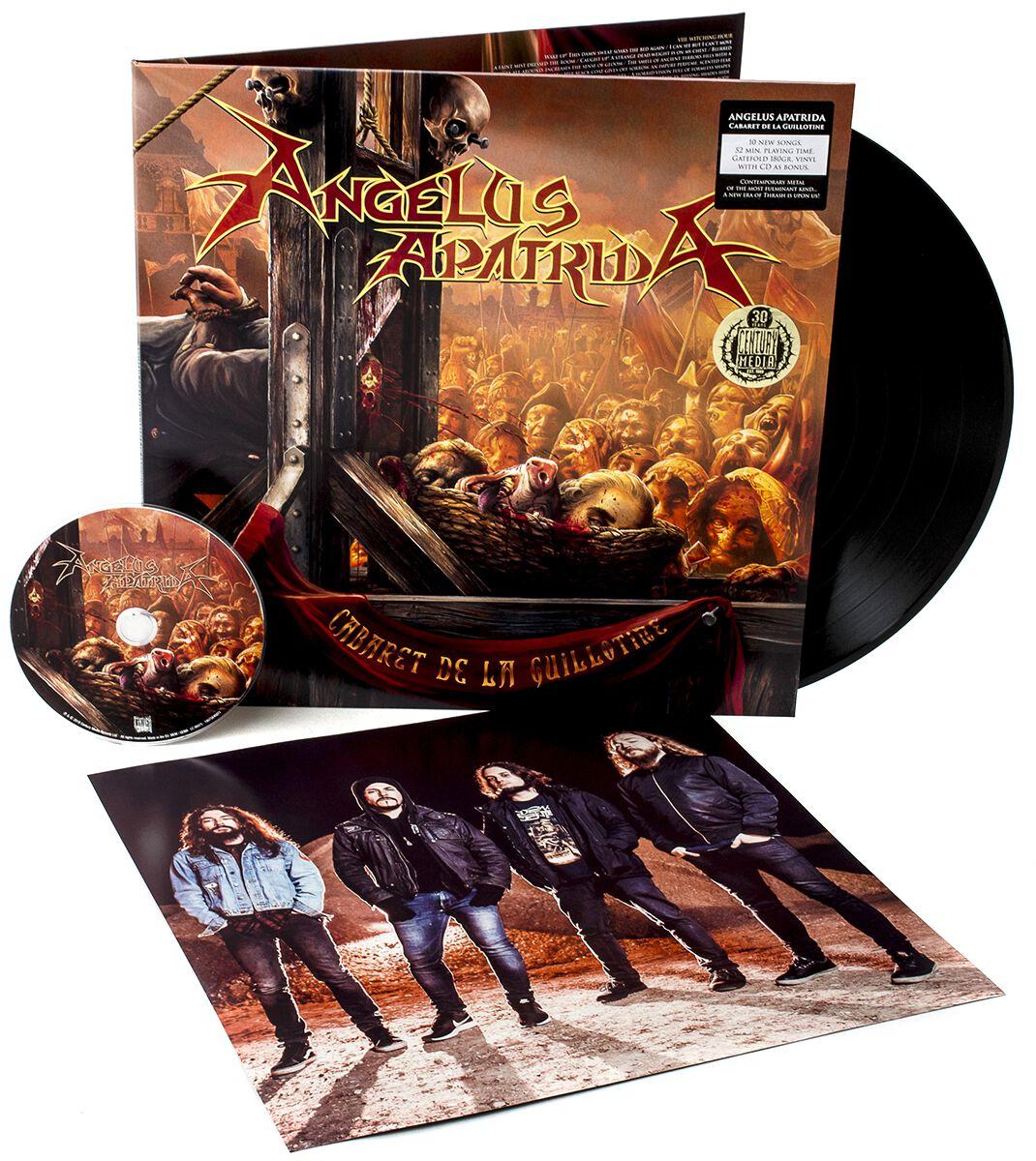 Image of Angelus Apatrida Cabaret de la guillotine LP & CD Standard