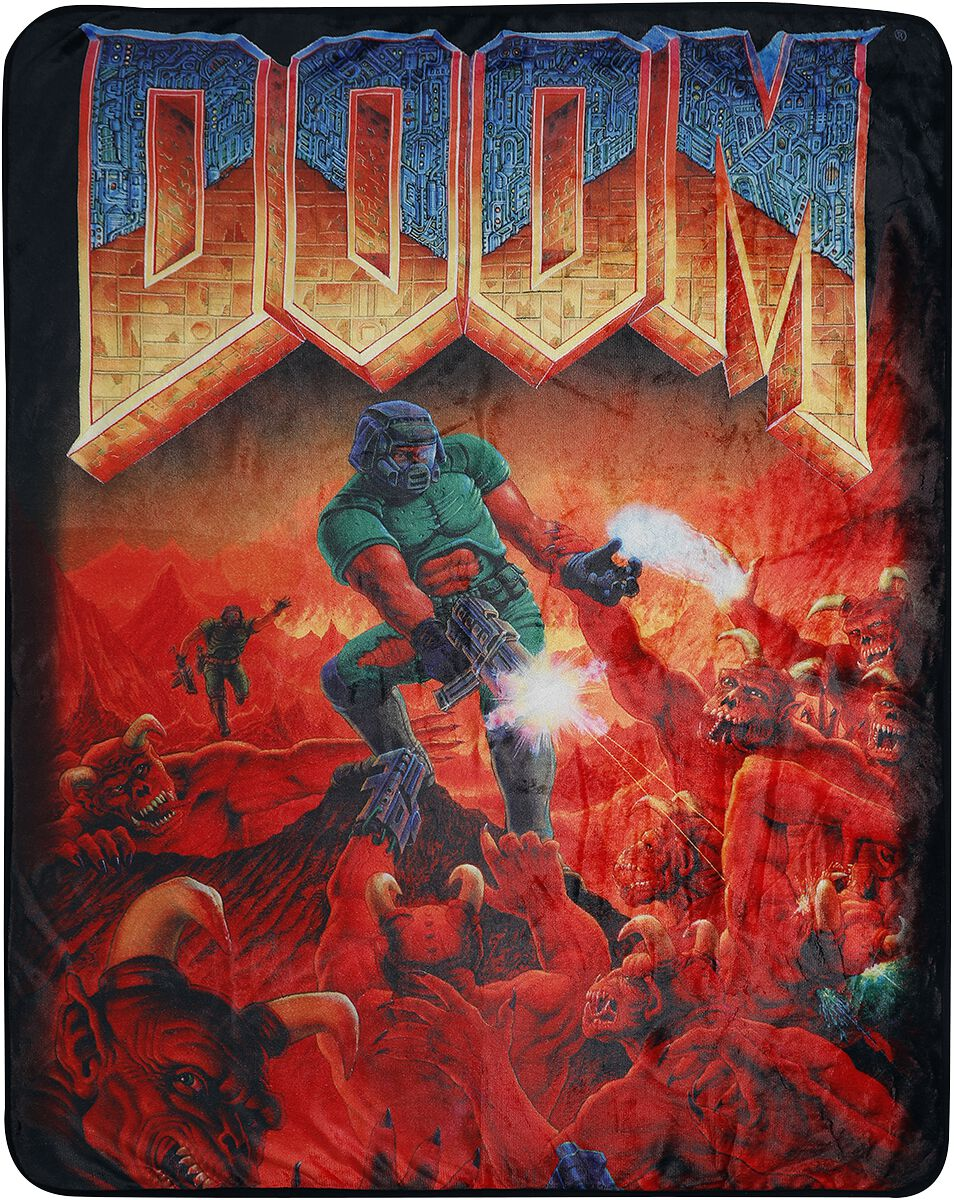 Doom Doomslayer  Decke  multicolor
