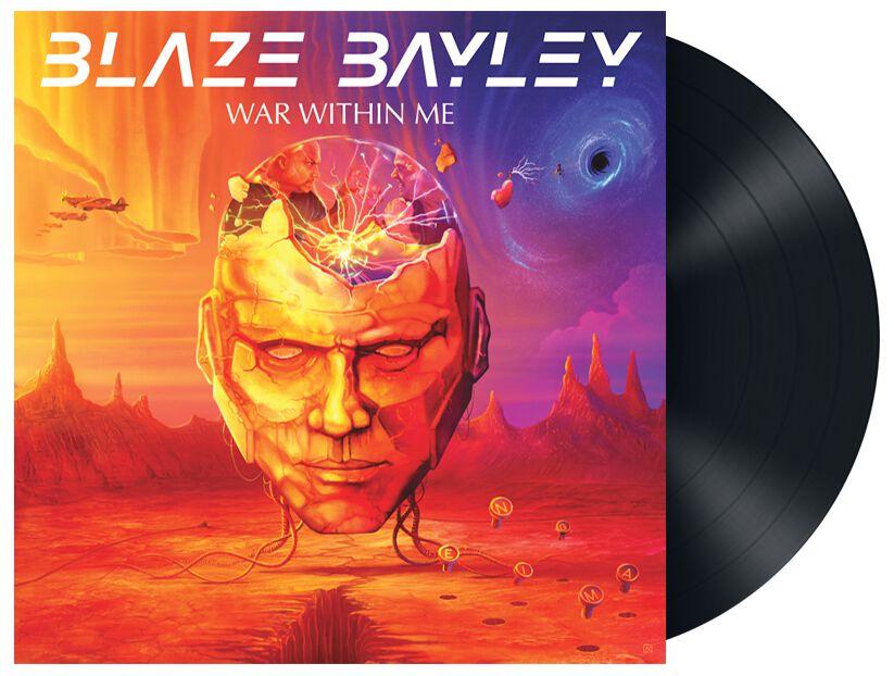 Bayley, Blaze War within me LP multicolor BBRVG007
