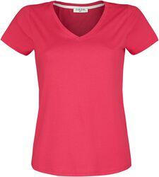 Ladies Shirt V-Neck