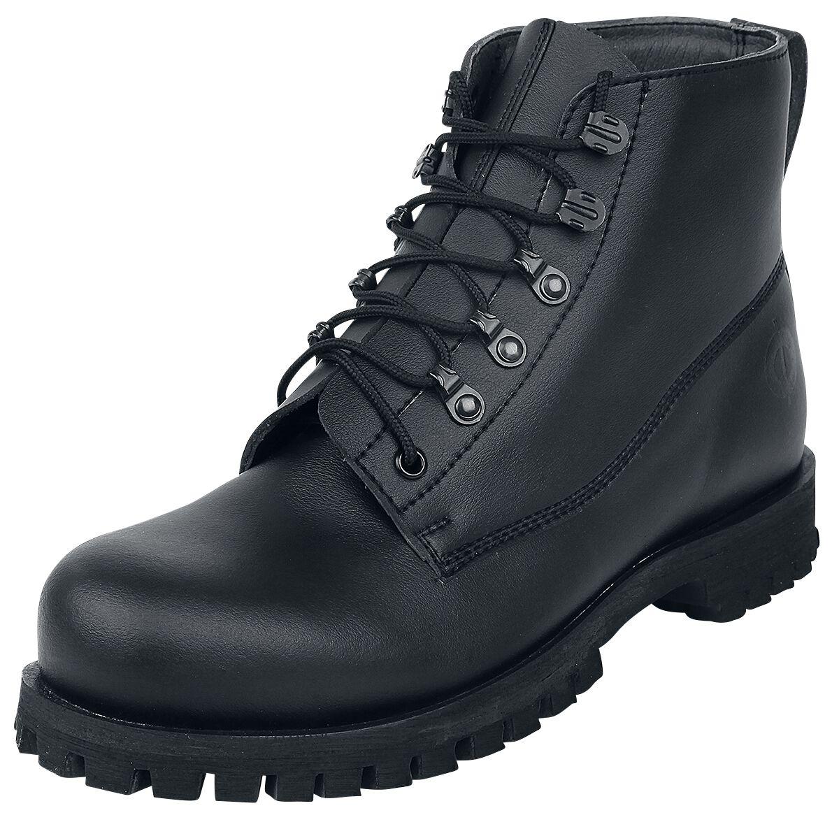 Image of Altercore Tyler Vegan Boots schwarz