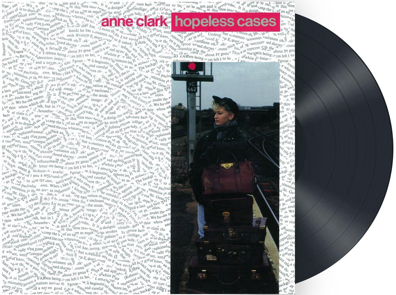 Image of Anne Clark Hopeless cases LP schwarz