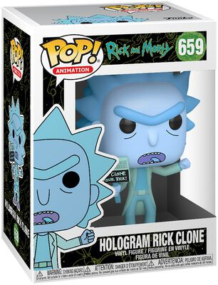 Hologram Rick Clone Vinyl Figur 659