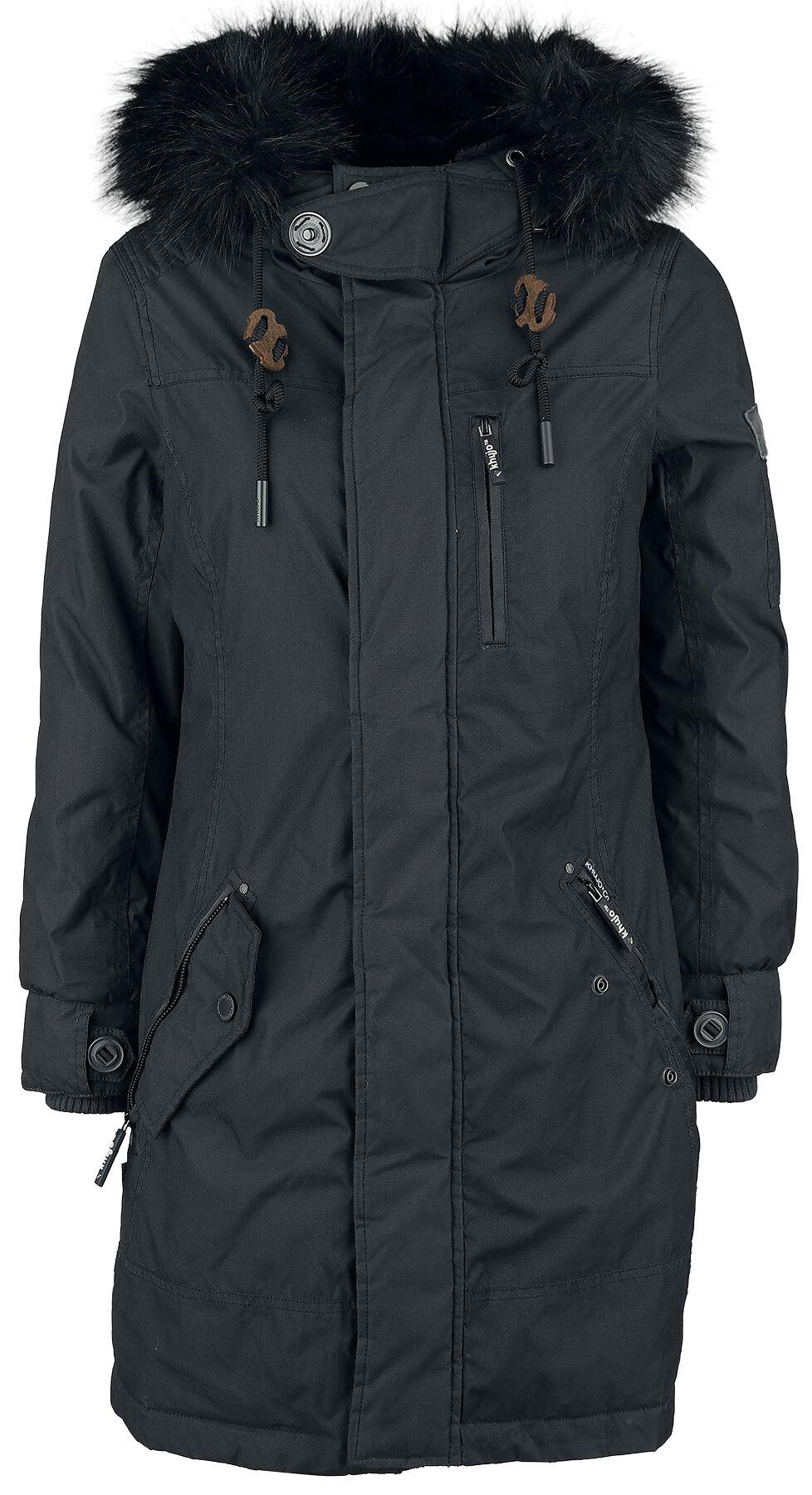 Jacken für Frauen - Khujo Babette Winterjacke dunkelblau  - Onlineshop EMP