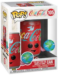 I'd like to buy the world a Coke Can Vinyl Figur 105