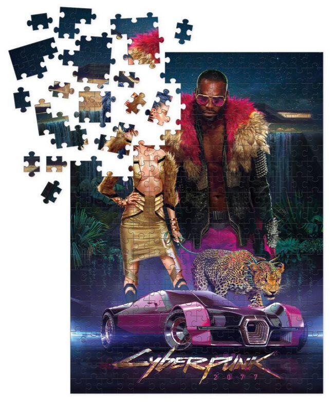 Cyberpunk 2077 Neokitsch - 1.000 Teile  Puzzle  Standard