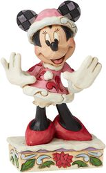 Minnie Mouse Christmas Mini Figurine