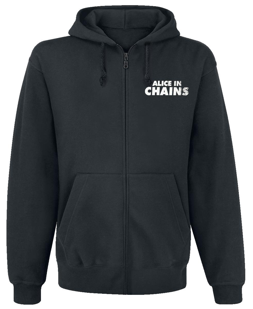 Alice In Chains - Big Eye - Hooded zip - black image