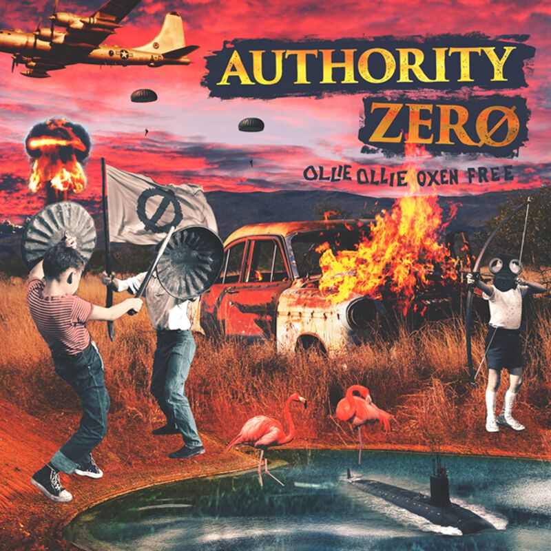 Image of Authority Zero Ollie Ollie Oxen Free CD Standard