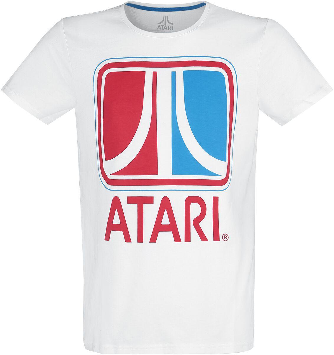 Image of Atari Retro T-Shirt weiß