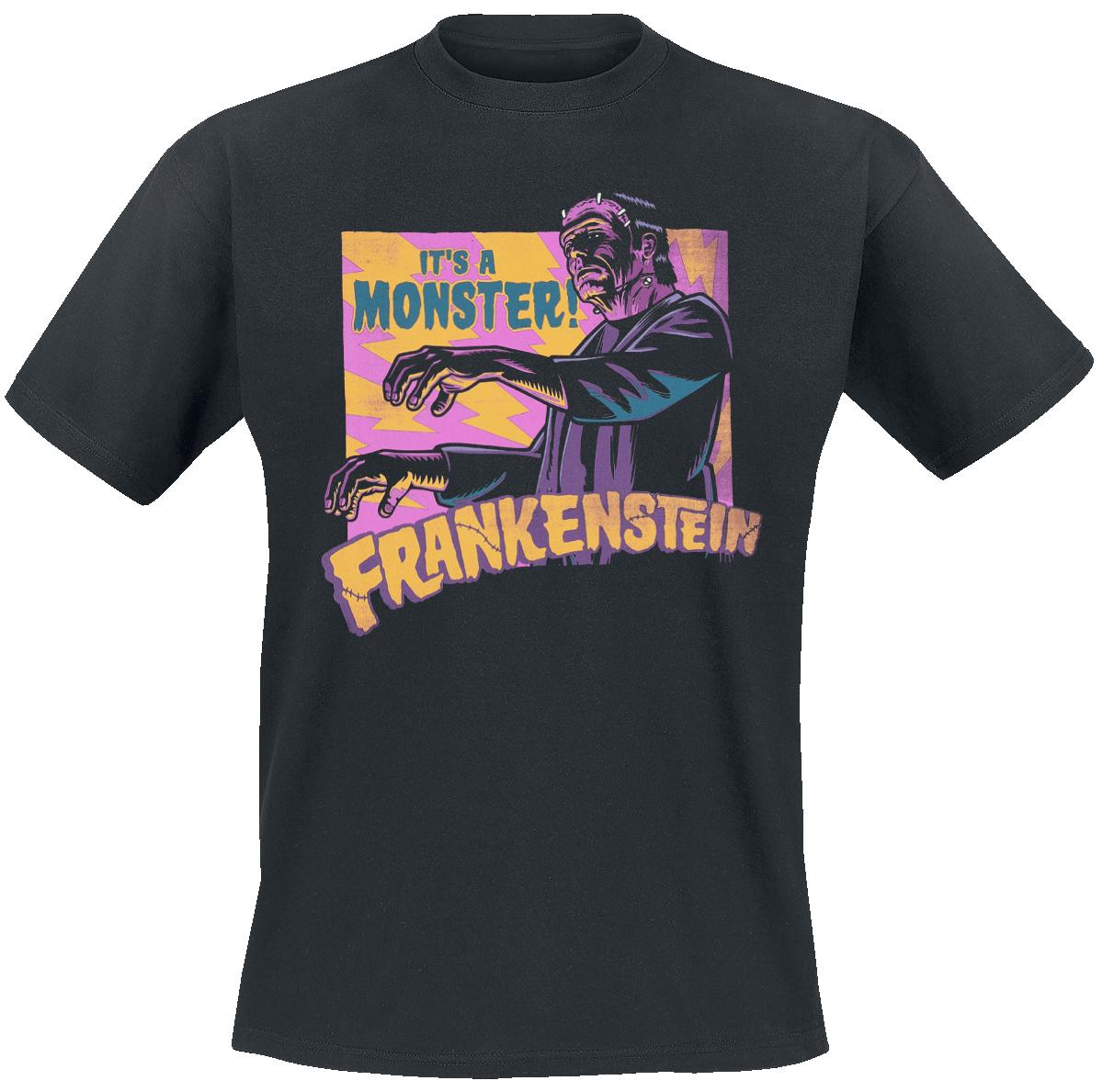 Frankenstein - It's A Monster! - T-Shirt - black image