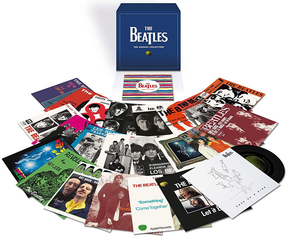 Image of The Beatles The singles collection 23 x 7 inch Standard