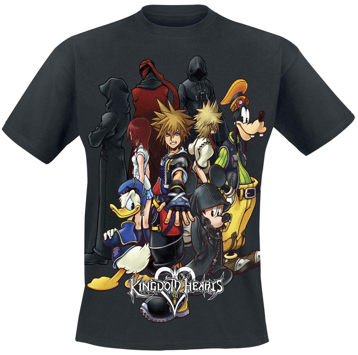 Hearts Group   Kingdom Hearts T-Shirt   EMP