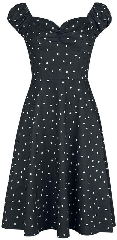 Sherry Spot Fit & Flare Dress
