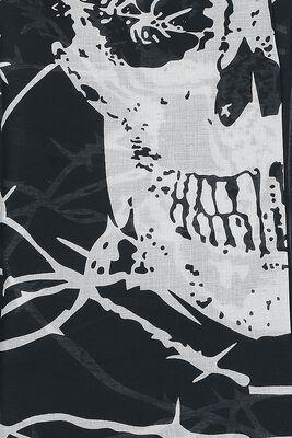 Stacheldraht Totenkopf Tuch