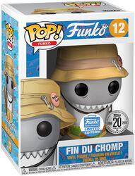 Spastik Plastik - Fin Du Chomp (Funko Shop Europe) Vinyl Figure 12