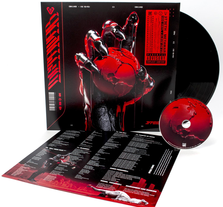 3teeth - Metawar - LP & CD - standard