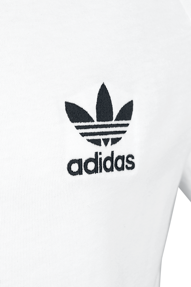 Image of Adidas 3-Stripes Tee T-Shirt weiß/schwarz
