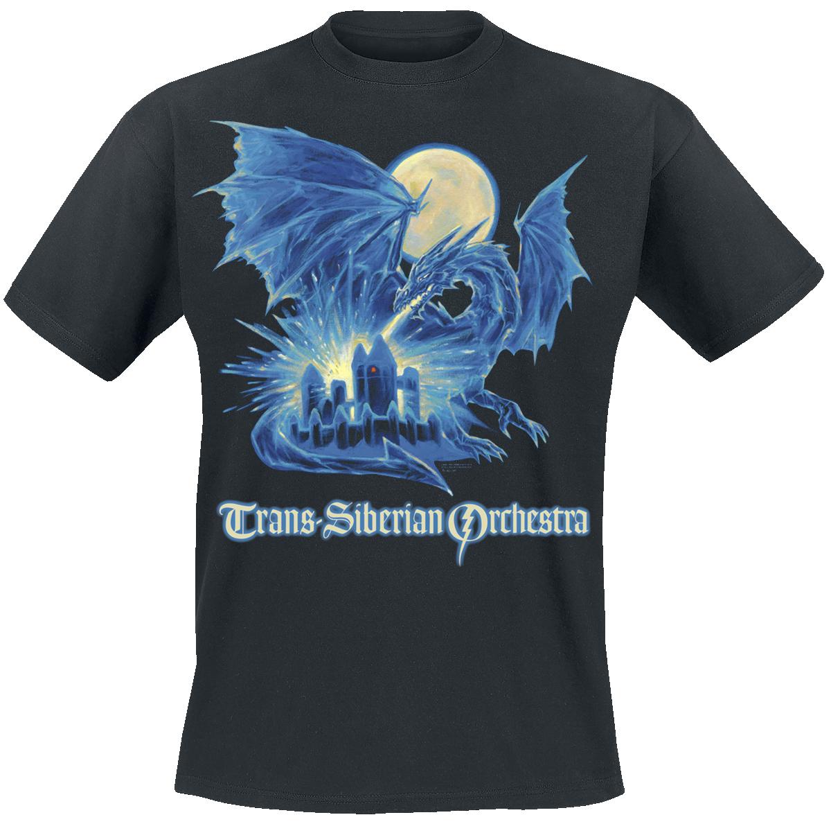 Trans-Siberian Orchestra - Ice Dragon - T-Shirt - black image