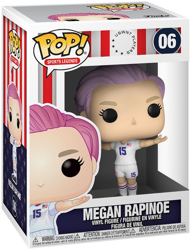 Football US Women's National Team - Megan Rapinoe (Sport Legends) Vinyl Figur 06