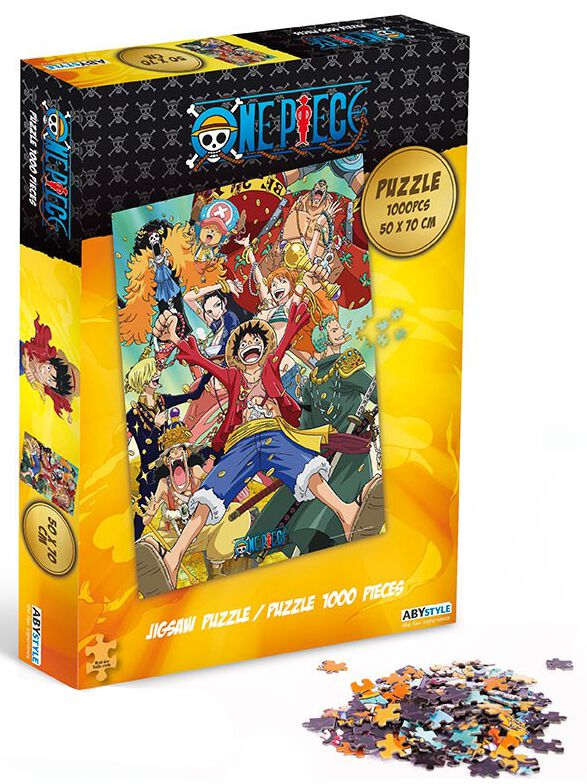 Image of One Piece - Jigsaw - Straw Hat Crew Puzzle - Puzzle - Unisex - multicolore