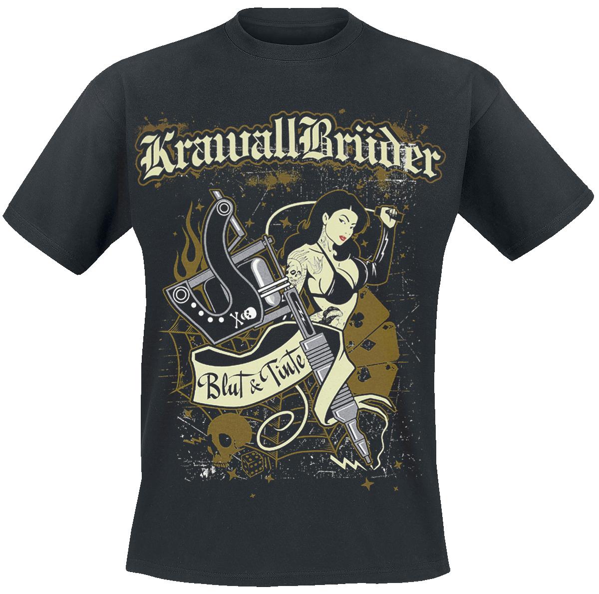 KrawallBrüder - Blut und Tinte - T-Shirt - black image