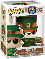 Around the World - Finley (POP und Pin) (Ireland) (Funko Shop Europe) Vinyl Figur 03