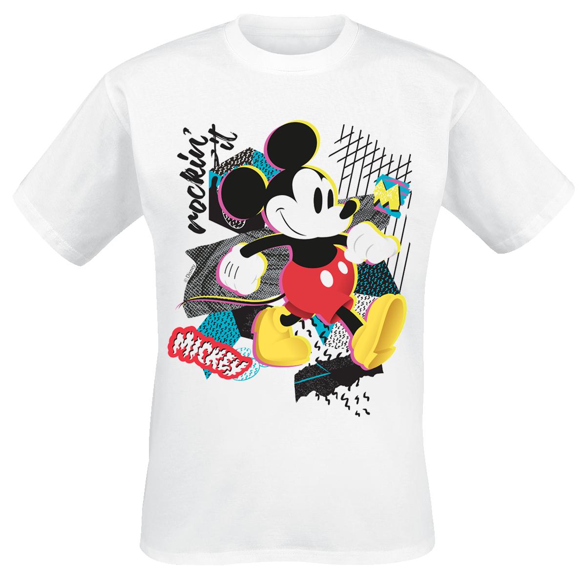 Mickey Mouse - Mickey Rockin' It - T-Shirt - white image