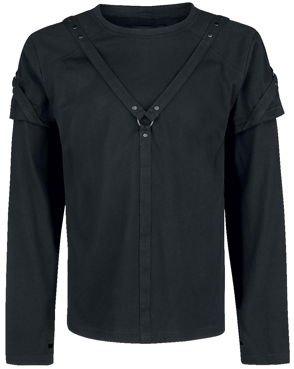 Vixxsin - Marcel Top - Longsleeve - black image
