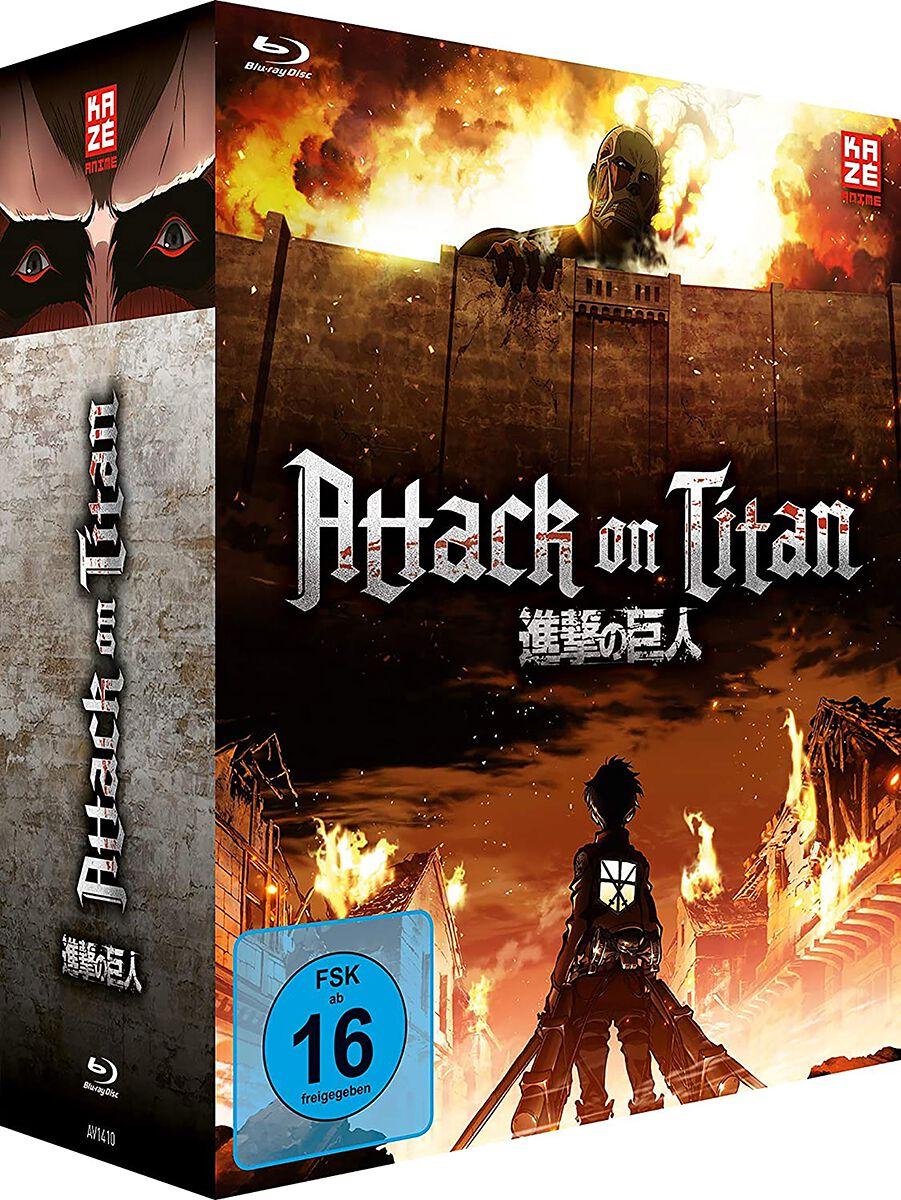 Image of Attack On Titan Staffel 1 - Gesamtausgabe 4-Blu-ray Standard