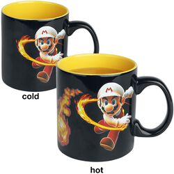 Feuerball - Tasse mit Thermoeffekt