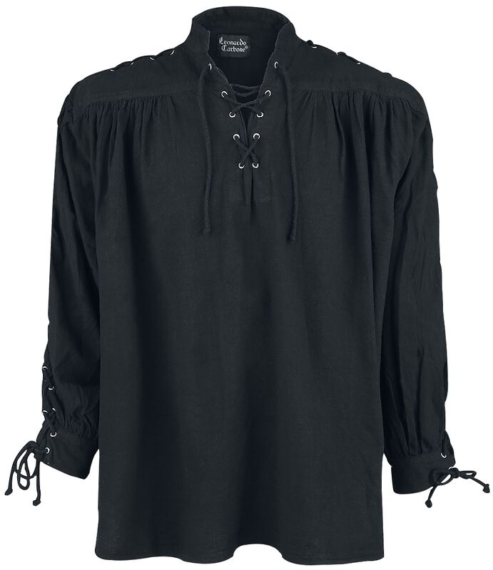 Mittelalter-Schnürhemd mit Ösen