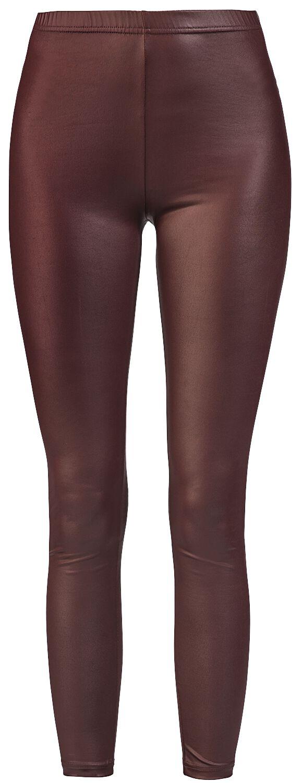 Black Premium by EMP Dunkelrote Leggings Leggings dunkelrot Q421-000184 M443536