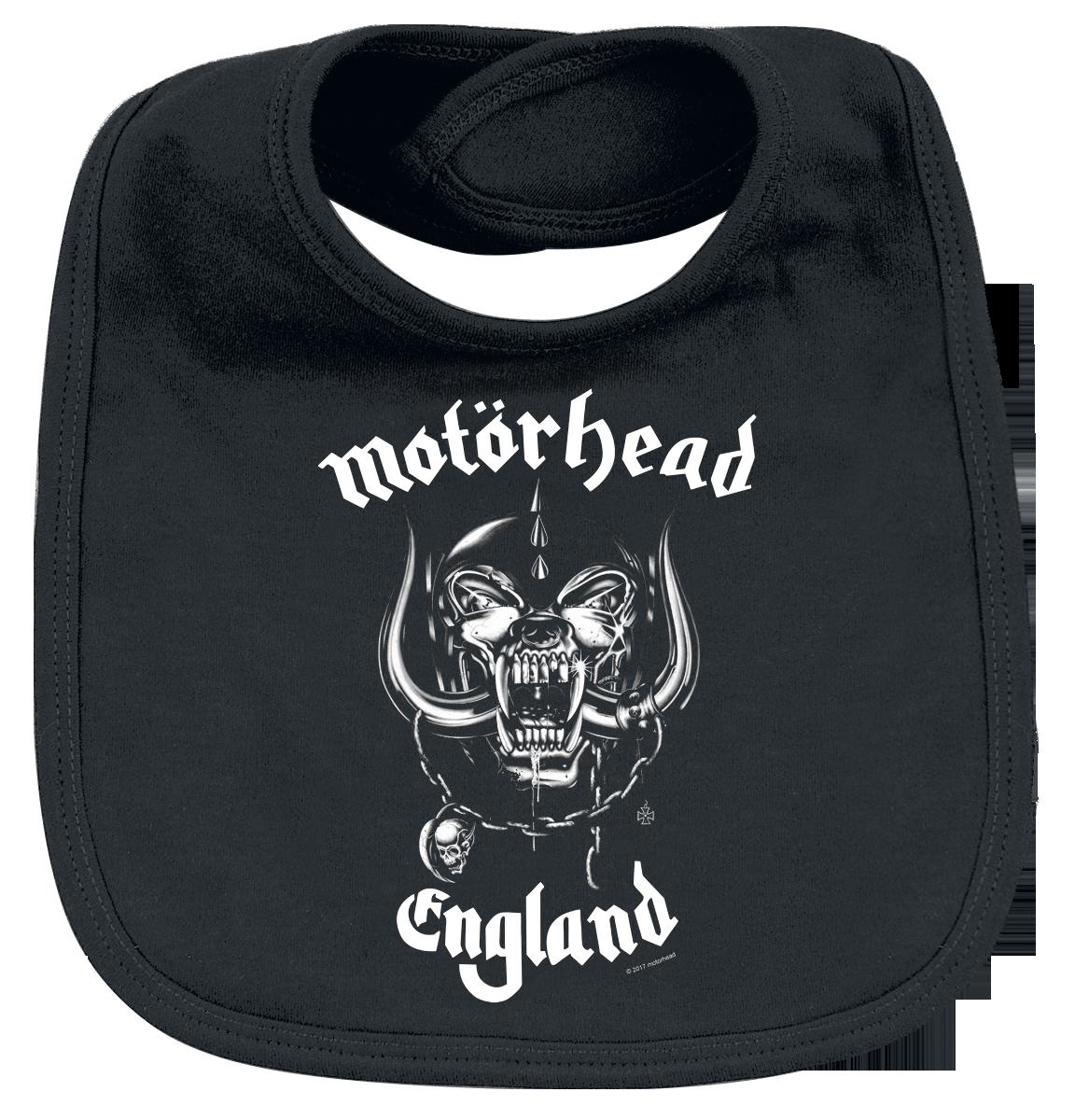 Motörhead - England - Lätzchen - schwarz