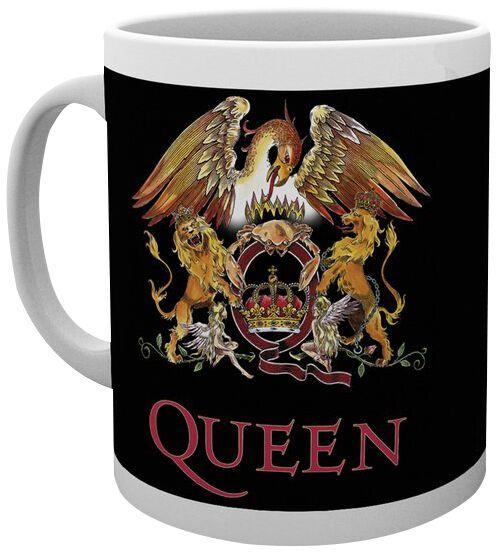 Queen Colour Crest Tasse weiß MG2661