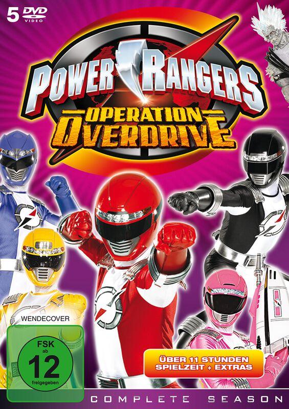 Power Rangers Operation Overdrive - Die komplette Serie