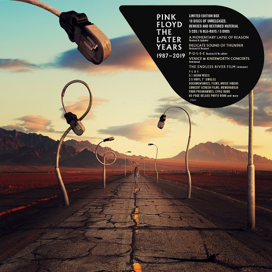 Image of Pink Floyd The later years 1987-2019 5-CD & 2x7 inch & 6-Blu-ray & 5-DVD Standard