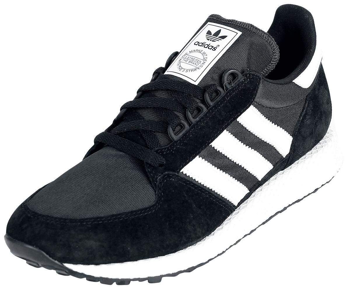 Sneakers für Frauen - Adidas Forest Grove Sneaker schwarz weiß  - Onlineshop EMP