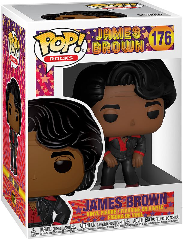 James Brown Rocks Vinyl Figur 176