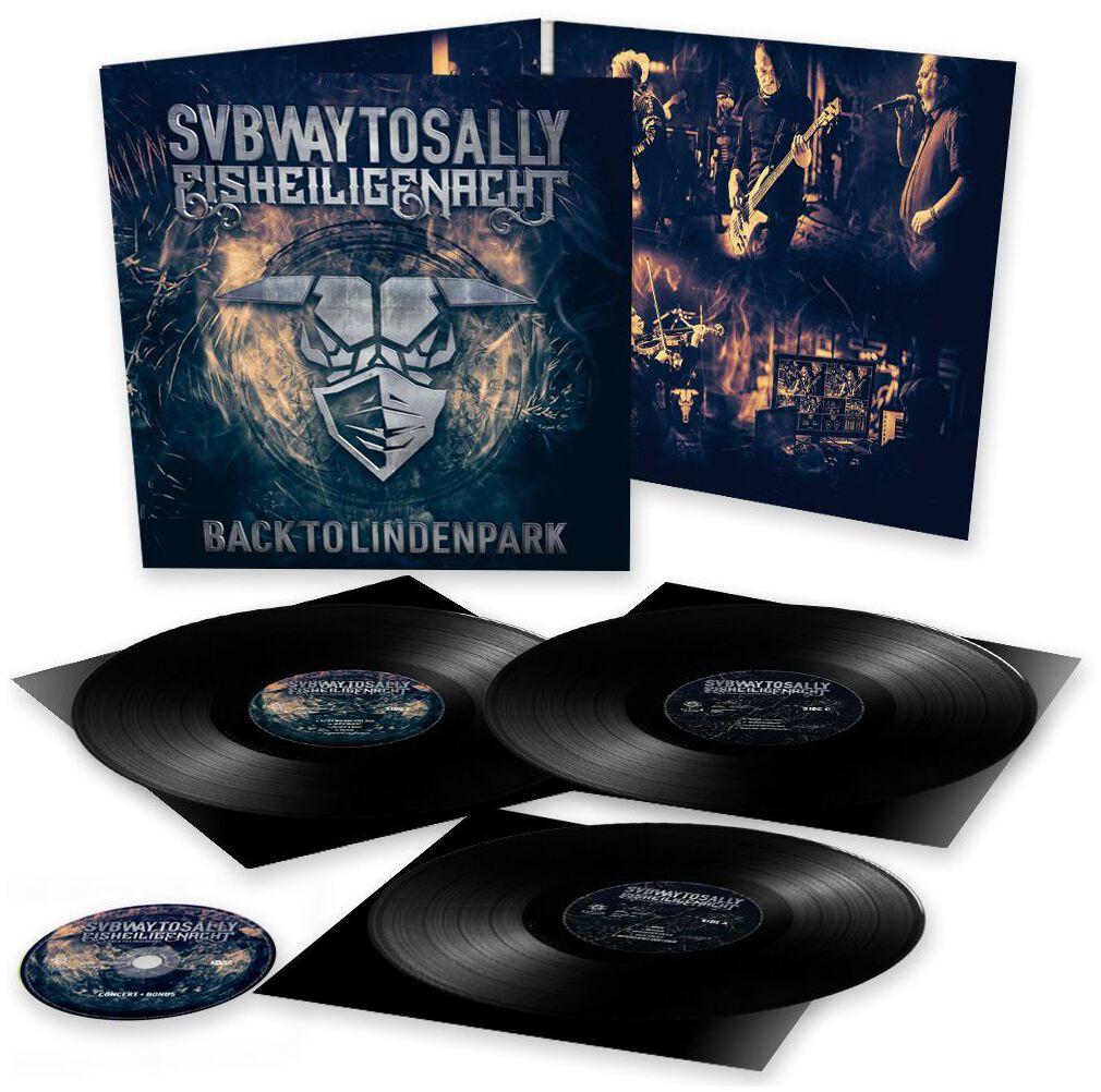 Image of Subway To Sally Eisheilige Nacht - Back to Lindenpark 3-LP & DVD schwarz