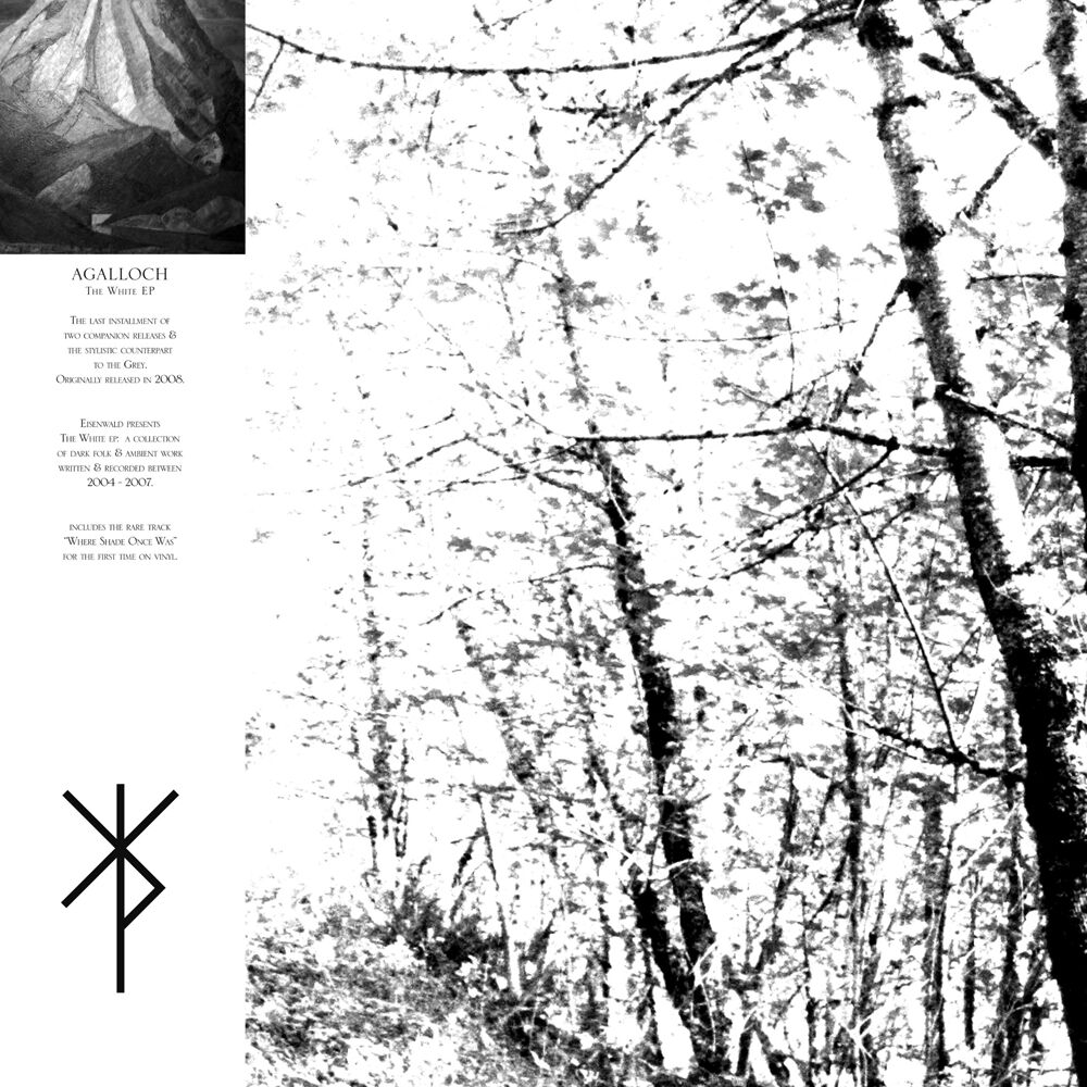 Image of Agalloch The white EP EP Mehrfarbig