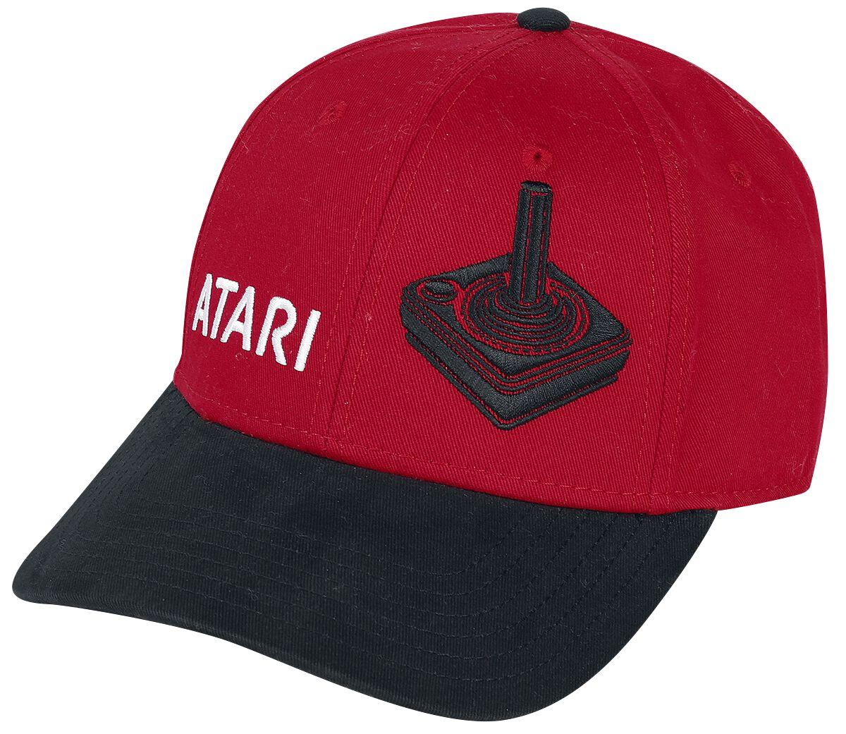 Image of Atari Joystick Cappellino da baseball rosso/nero