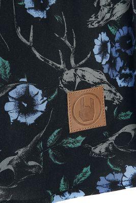 Cold-Shoulder Bluse Black Premium