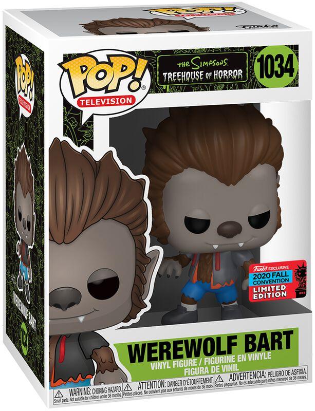 NYCC 2020 Werewolf Bart Vinyl Figur 1034