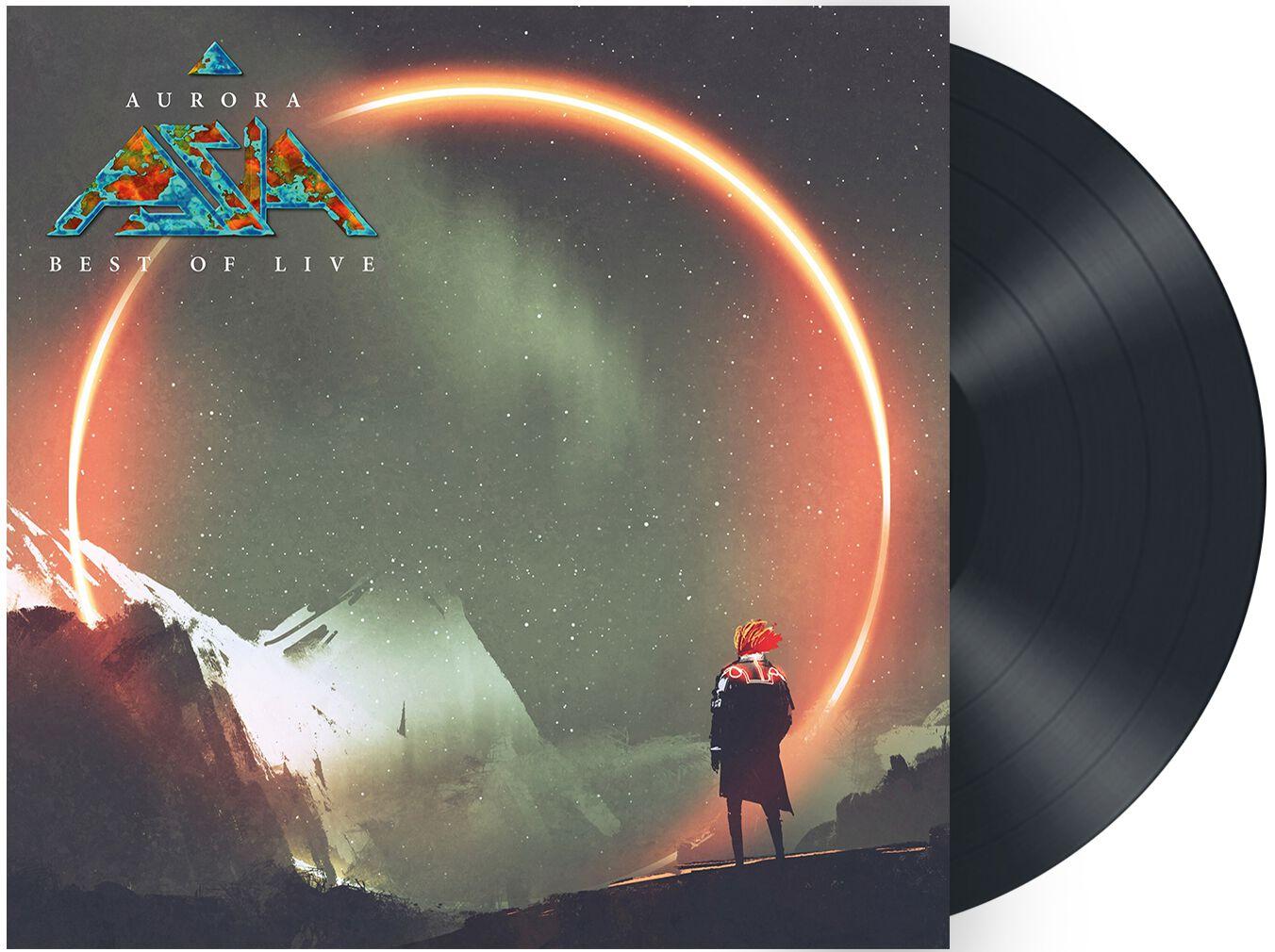 Image of Asia Aurora - Best of live LP Standard