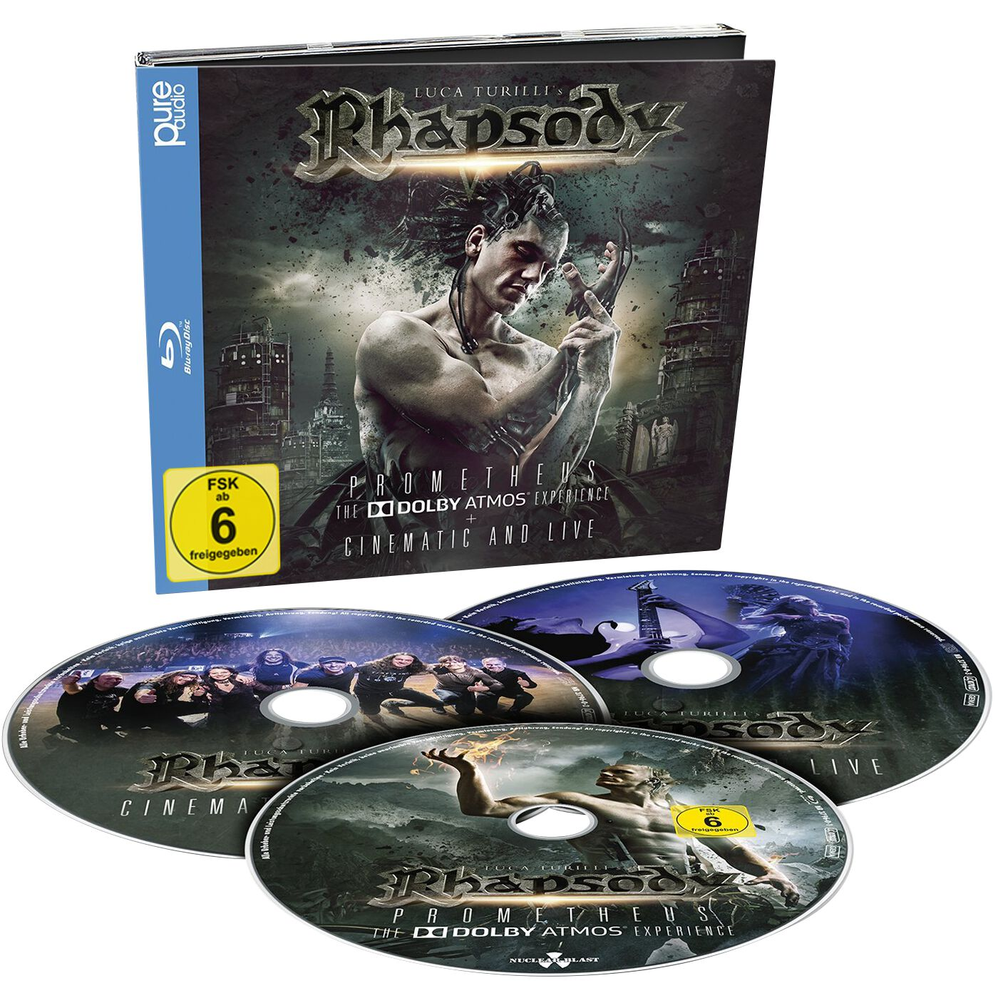 Image of Rhapsody Prometheus, The Dolby Atmos Experience Blu-ray & 2-CD Standard